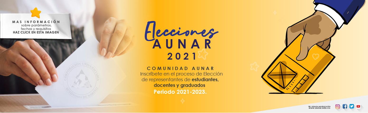 Elección estudiantes AUNAR